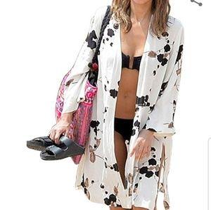 Swim Coverup Kimono Cardigan